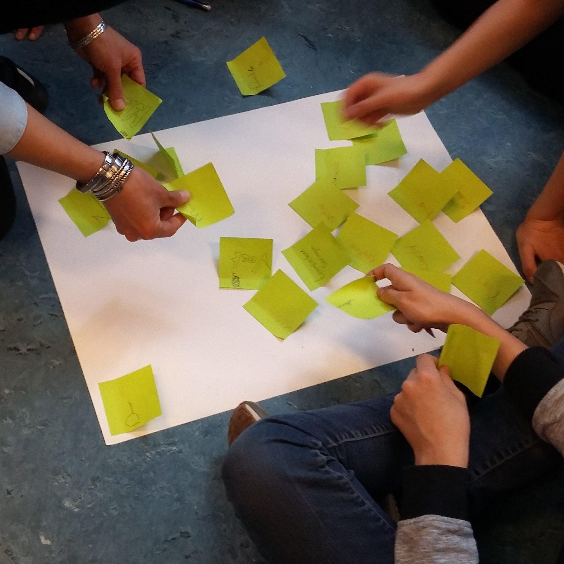 Onderzoekend ontwerpend leren onderzoeken brainstorm