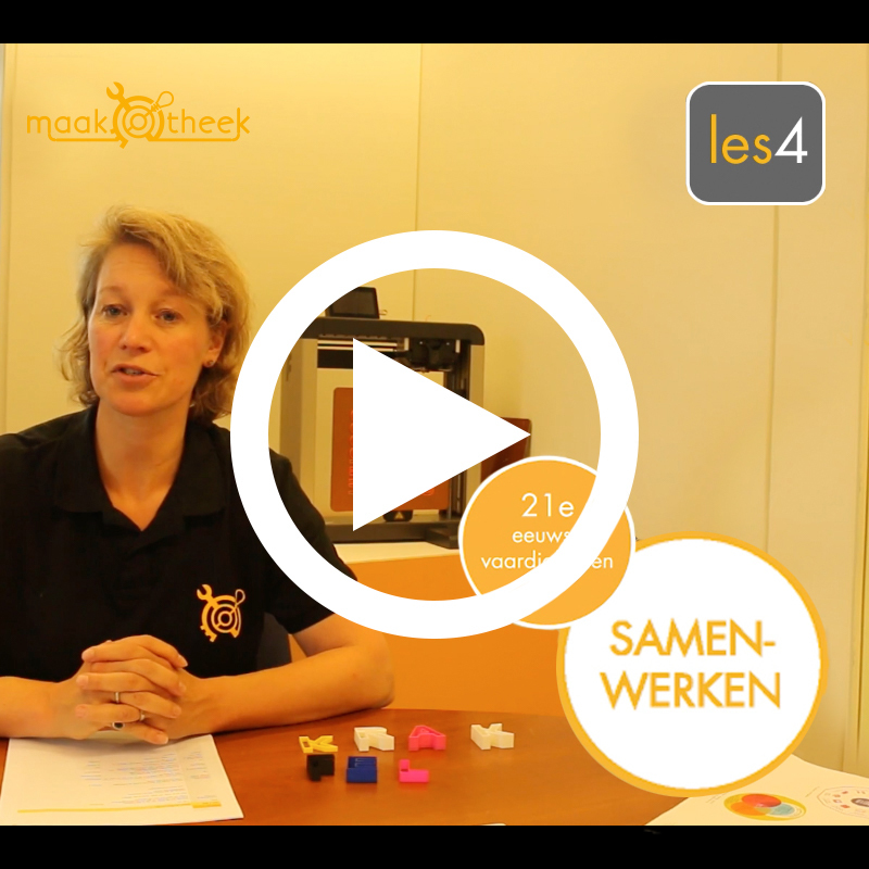 Maakotheek professionaliseren leraren video instructie platform vierkant