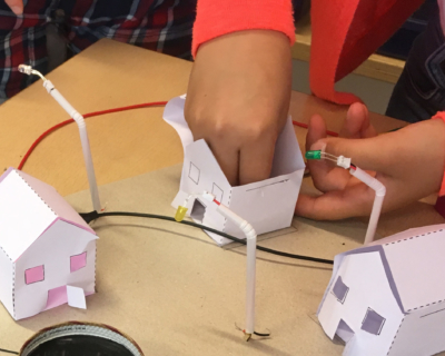 Maakbox duurzame energie elektriciteit opwekken